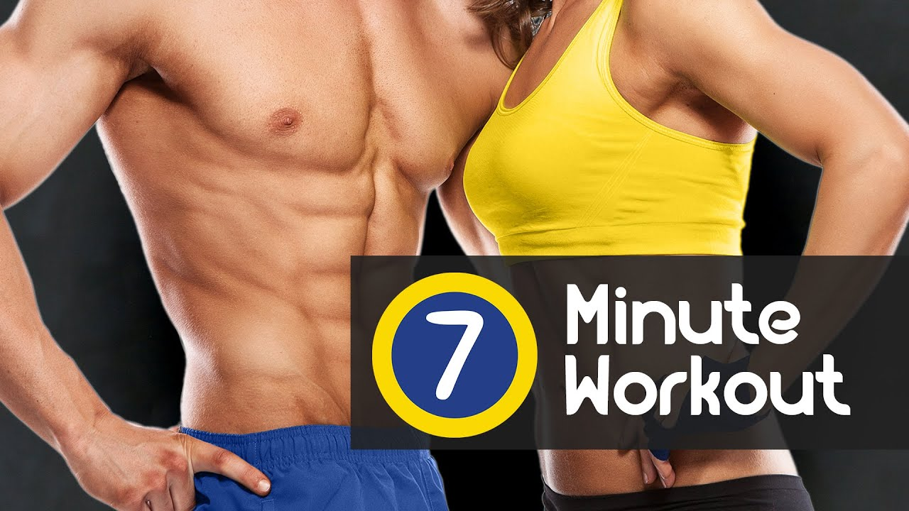 7 Minute Workout A Daily Training To Lose Weight Fast Burn Fat And Tone Your Full Body
