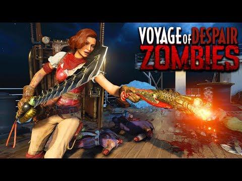 BLACK OPS 4 ZOMBIES VOYAGE OF DESPAIR GAMEPLAY WALKTHROUGH (Call of Duty Black Ops 4 Zombies) thumbnail