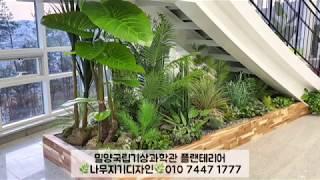 인조식물실내조경 '플랜테리어' 전문 / 나무지기디자인