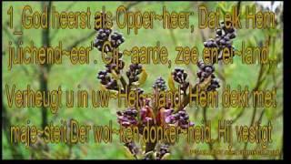 """Psalm 97 niet ritmisch Karaoke """" God heerst als Opperheer """""""