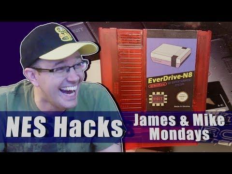 Playing some NES hacks - James & Mike Mondays