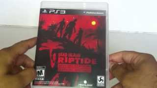 Dead Island Riptide Special Edition Early Unboxing PS3