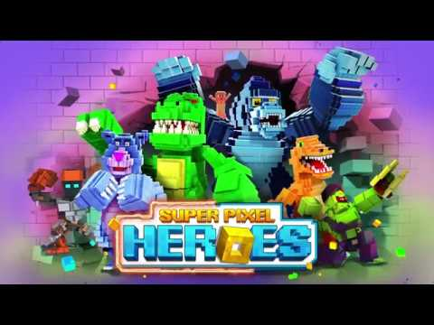 Super Pixel Heroes   Android Trailer