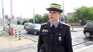 2020-06-05 г. Брест. Международный день безопасности на ж/д переездах.  Новости на Буг-ТВ. #бугтв