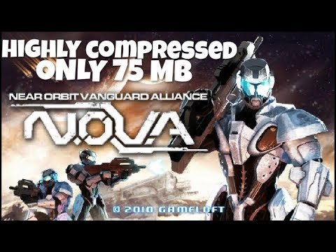 N.O.V.A. Psp Iso Game For Android Highly Compressed Only 75 Mb HD GAMEPLAY [hindi]