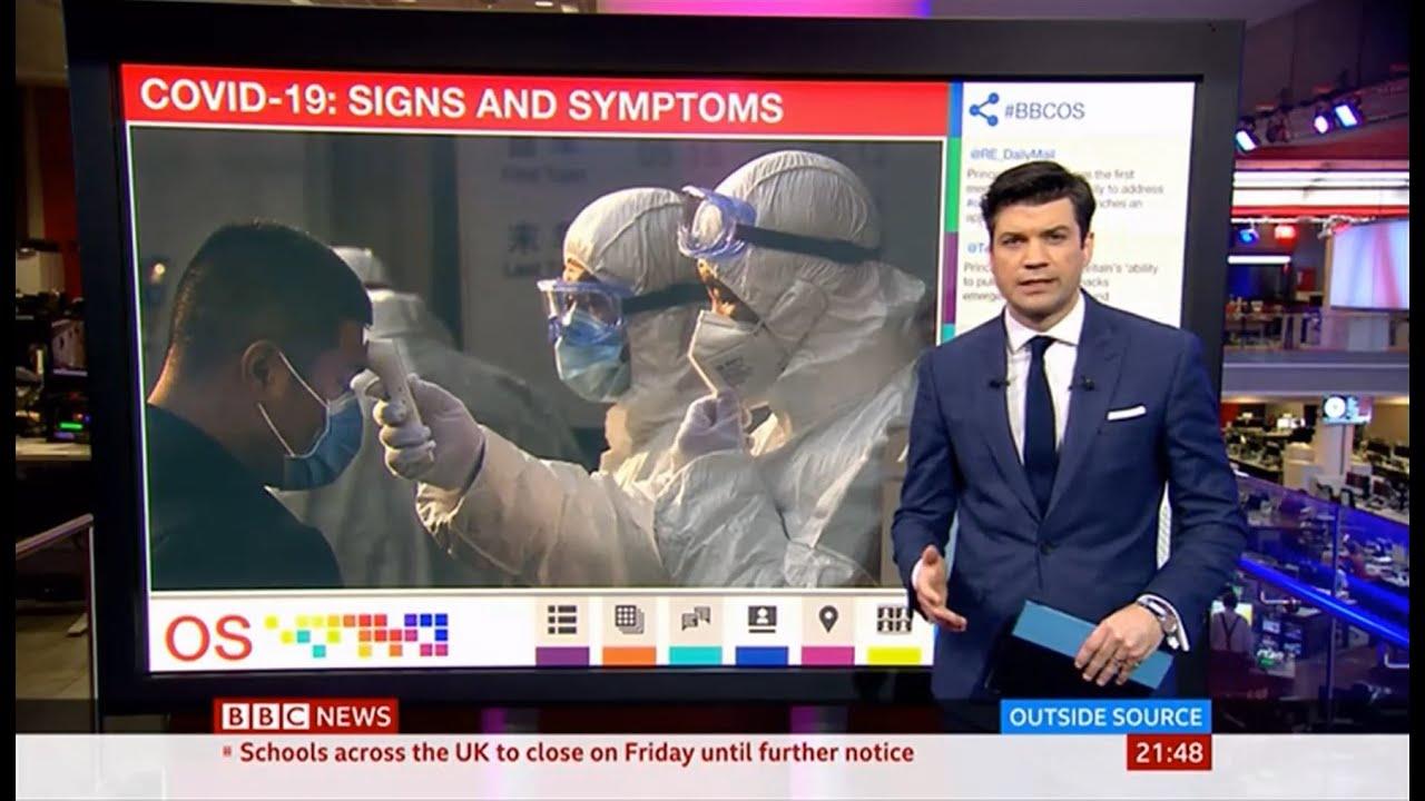 Coronavirus (Covid-19) Signs & Symptoms (UK/(Global) - BBC News ...