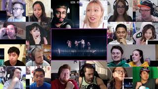 K/DA - POP/STARS | Music Video League of Legends Reactions Mashup | Super Version