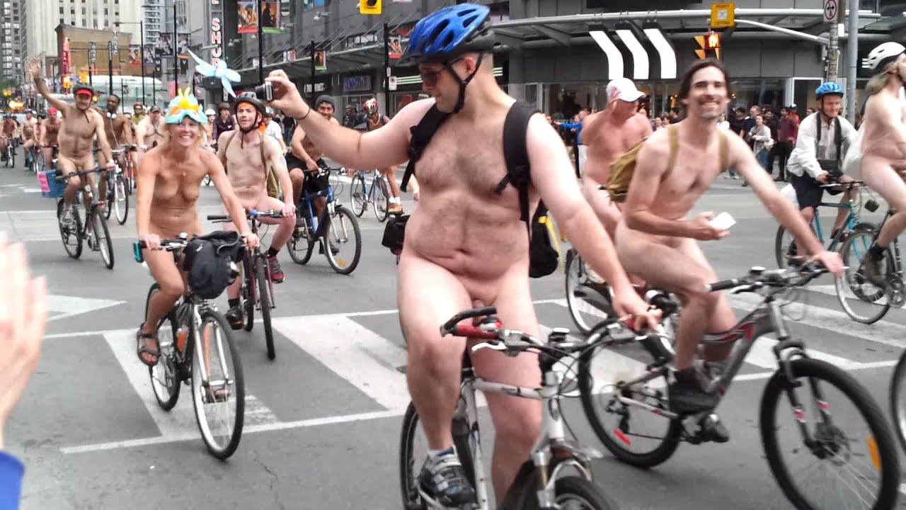 2011 world naked bike ride (wnbr) toronto (full hd) - youtube