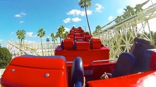 California Screamin' Roller Coaster (HD) - Disney California Adventure | Gabe and Garrett