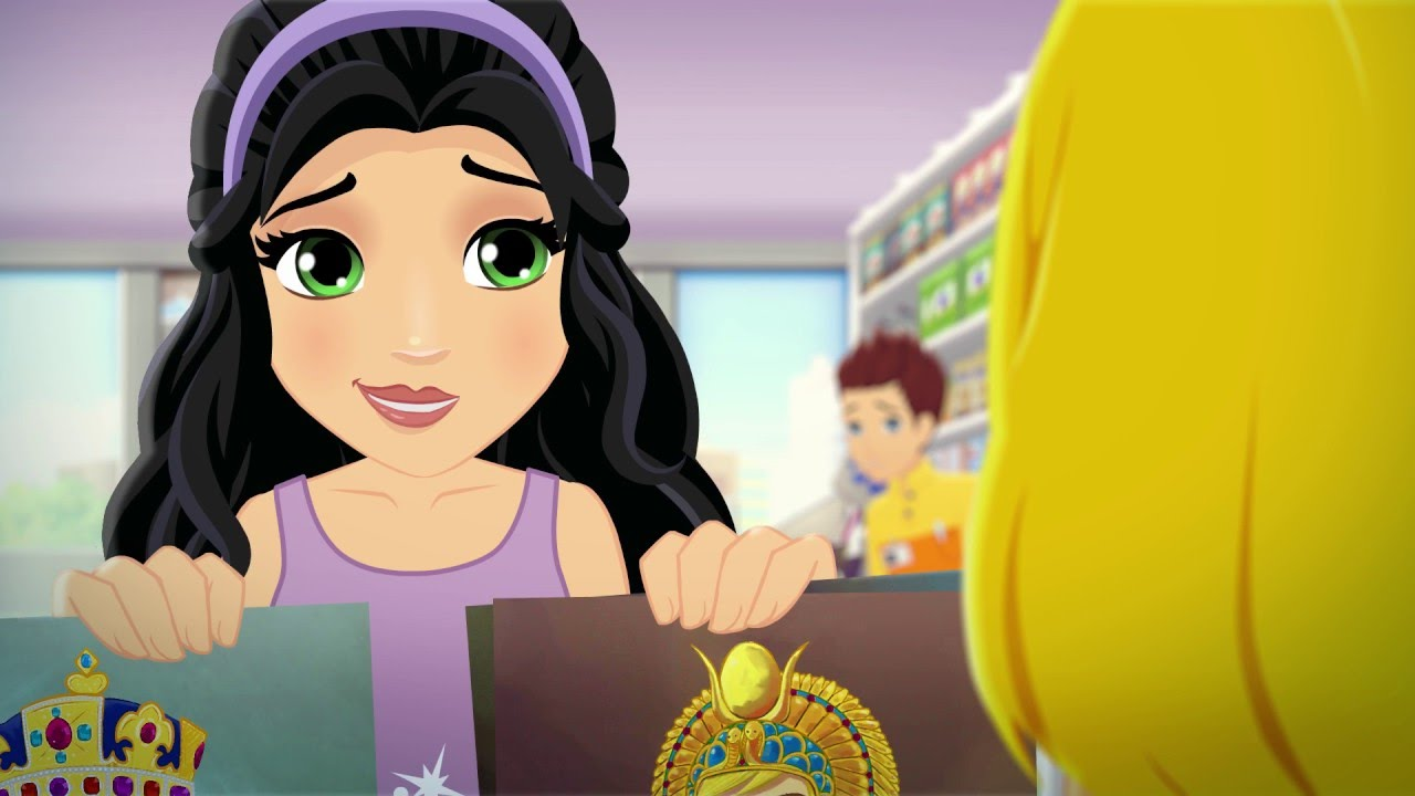 Stephanie The Great Lego Friends Season 3 Episode 4 Youtube