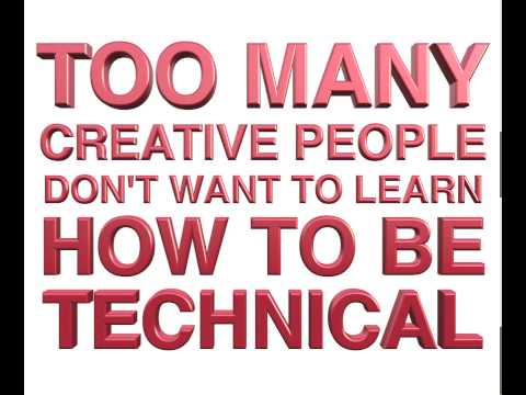 """Robert Rodriguez """"Become Technical"""" (Motion Graphics Typography)"""
