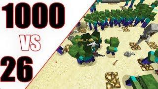 1000 POTWORÓW VS 26 GRACZY!