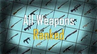 Roblox Strucid Clasificación de todas las armas de peor a mejor