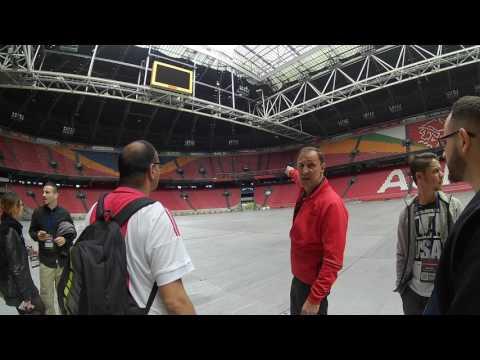 Amsterdam Arena Stadion Tour (Part 1)