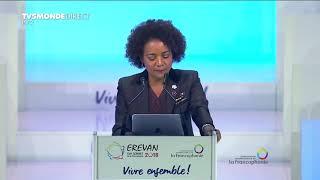 Sommet de la Francophonie - discours de Michaëlle Jean