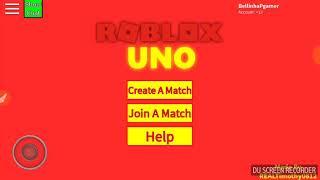 ¿Gané??? -ROBLOX (Roblox uno)