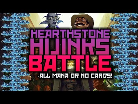 Hearthstone Hijinks Battle: ALL OR NOTHING! (Rage vs Hollow)