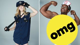 Best Friends Swap Men And Women's Halloween Costumes thumbnail