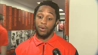 Training Camp Day 19: Prince-Tyson Gulley Interview - Syracuse Football