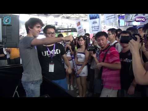 A professional gamer visits China