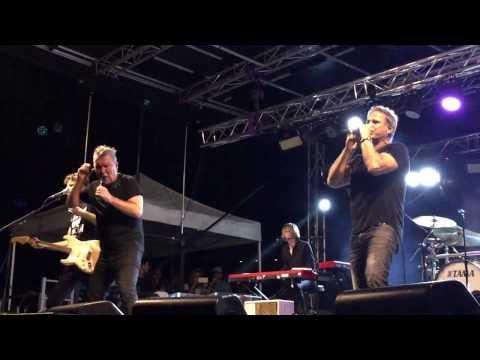 Jimmy Barnes & Jon Stevens Good Times - Hotter Than Hell Tour Redland Bay Hotel Qld. 22/1/17