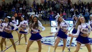 Bolles Varsity Cheerleading Halftime Move Shake Drop