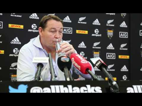 Steve Hansen Sunday AM Debrief 3rd Test vs LIONS 2017