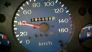 Daewoo Tico 0-100 przyśpieszenie