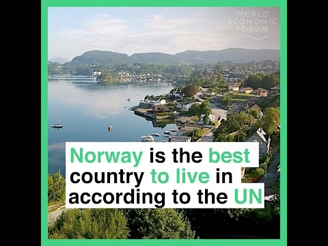 Norway is the best country to live in according to the UN