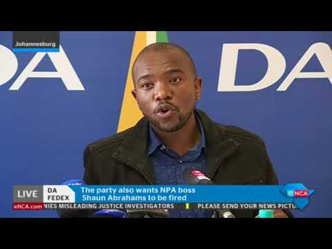 DA briefing on outcomes of Federal Executive meeting