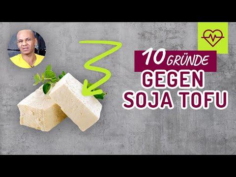 Soja UNGESUND ☠️❗️10 Gründe GEGEN Soja/Tofu‼️ Pures GIFT ❌❌