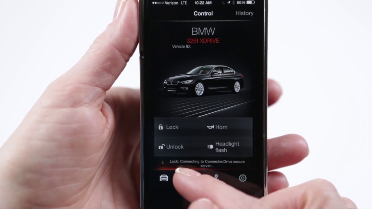 BMW Genius - ConnectedDrive App