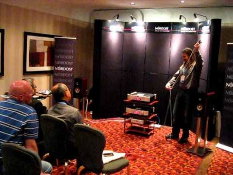 Nordost debut of LEIF cables by Bjorn at Montreal HiFi Show