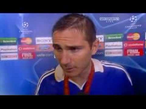 Lampards Interview after the match..