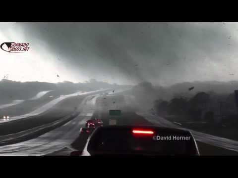 Amazing Kennedale, Texas tornado video!