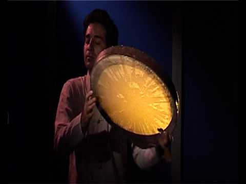 Iranian Kurdish Frame Drum (Daf ) Solo Performance & Sound Introduction on Synthetic Head Habibi 02