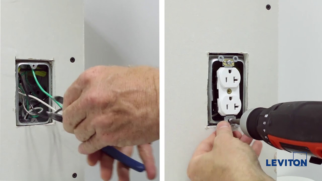 Simple & Secure - Lev-Lok ® Modular Wiring Devices - YouTube