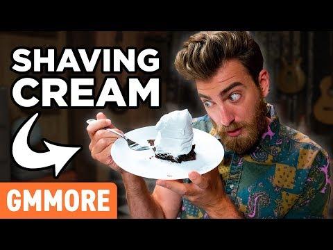 Shaving Cream Dessert Topping Taste Test