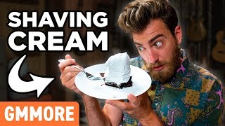 Shaving Cream Dessert Topping Taste Test