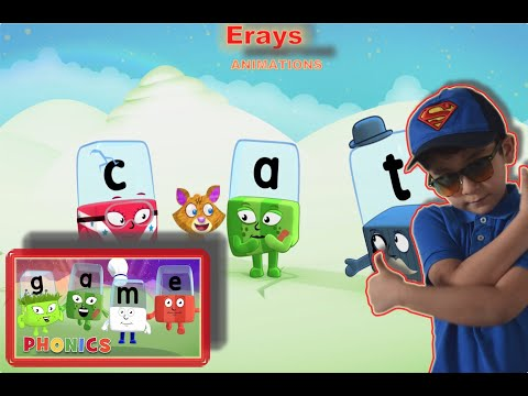 MEET THE ALPHABLOCKS (BY ERAY) Learning The Alphabets Game