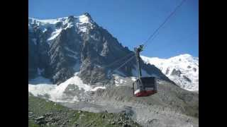 Aiguille du Midi Cable Car to Mont Blanc