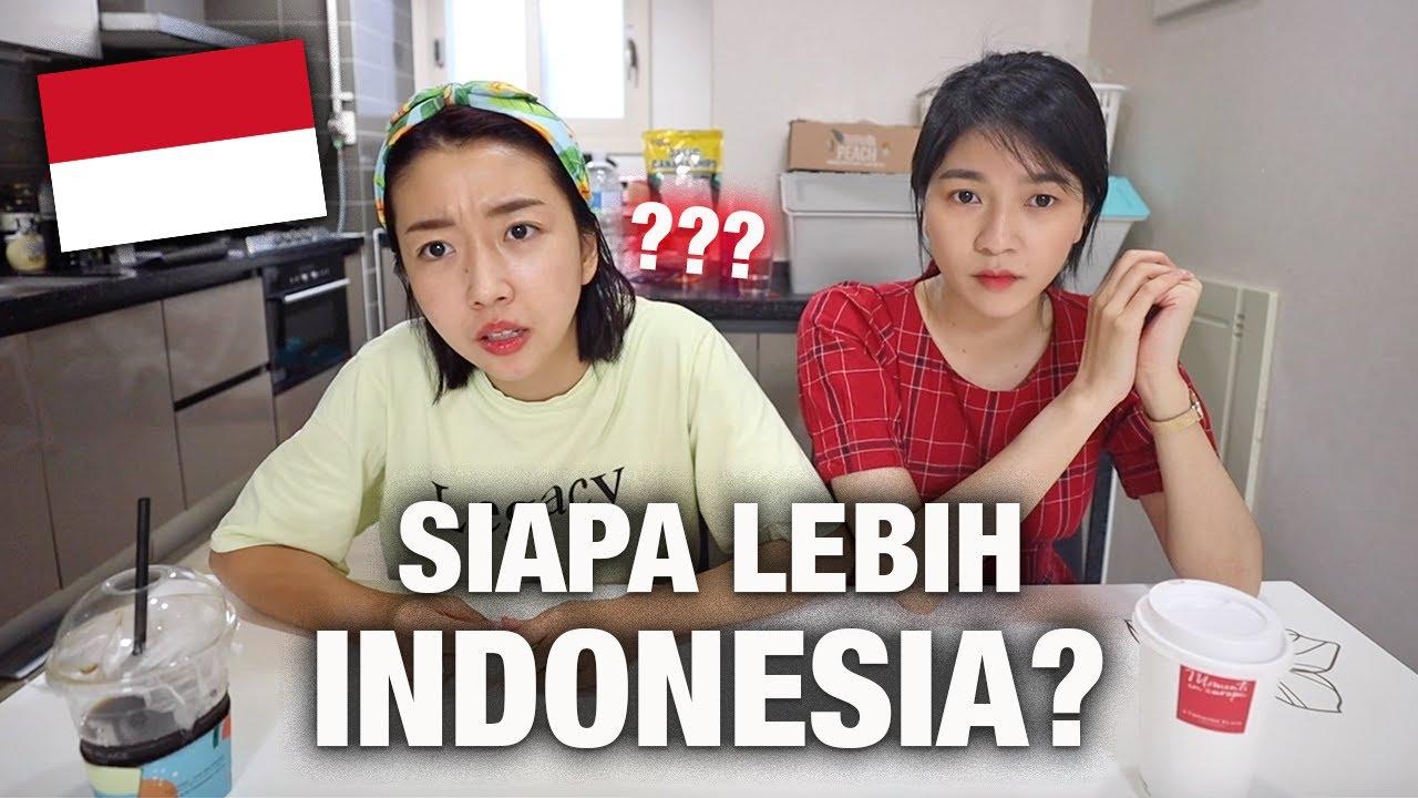 ORANG KOREA MANA YANG LEBIH INDONESIA? SUNNY ATAU AMELIA [AMELICANO]??