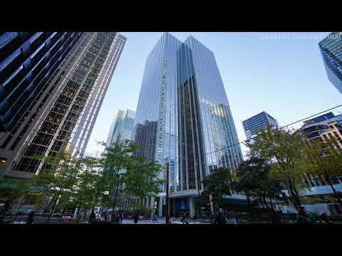 Toronto Stock Exchange (TSX) | Bourse De Toronto | Toronto | Ontario | Canada | 4K Timelapse