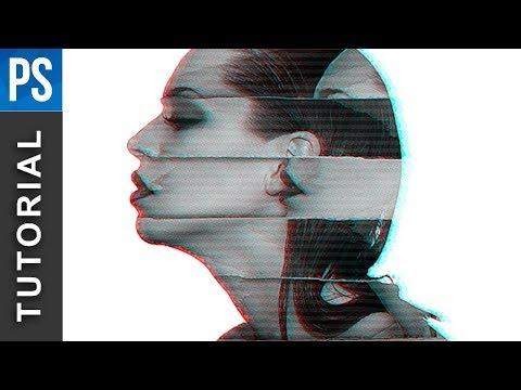 Glitch Portrait Effect | Photoshop Tutorial