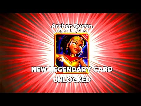 FINALLY UNLOCKED THE BEST LEGENDARY CARD! ARCHER QUEEN! Castle Crush