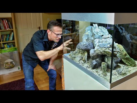 ROCK ONLY AQUASCAPE - Full Tutorial - Oase Highline 175