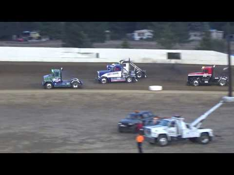 Grays Harbor Raceway, August 19, 2017, Rolling Thunder Big Rigs Heat Races 1 and 2