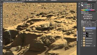 Machine Parts, Structures & Weird Vehicles Hidden On Mars