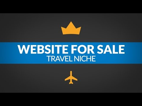 Website For Sale – $3.2K/Month in Travel Niche, Monetized with Adsense