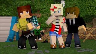 Minecraft: Namorada Perfeita #06 - ACAMPAMENTO DA ESCOLA !!